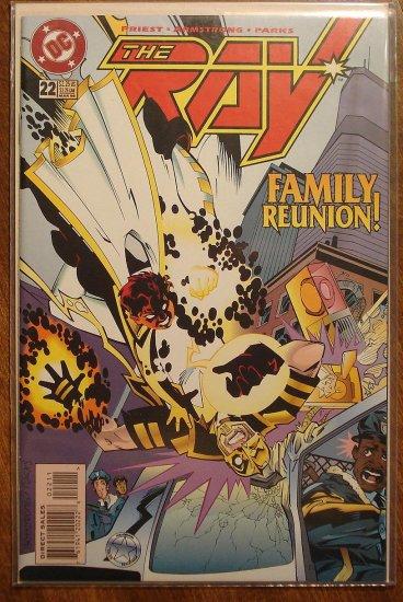 The Ray #22 comic book  - DC Comics
