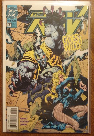 The Ray #7 comic book  - DC Comics