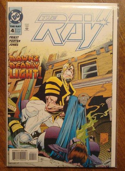 The Ray #4 comic book  - DC Comics