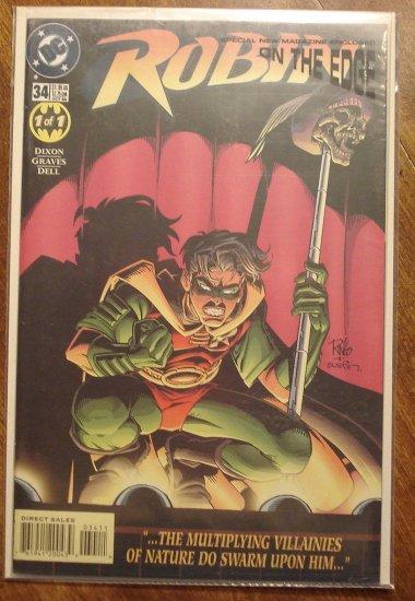 Robin #34 comic book - DC Comics