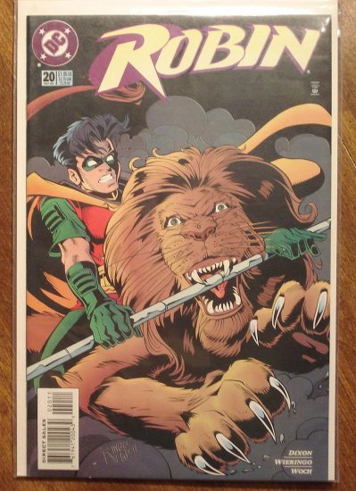 Robin #20 comic book - DC Comics