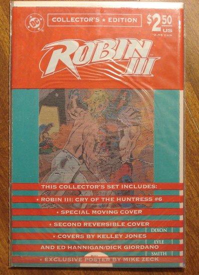 Robin III #6 comic book - DC Comics - factory bagged - unopened