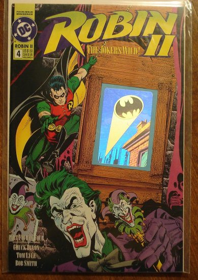 Robin II #4 comic book - DC Comics
