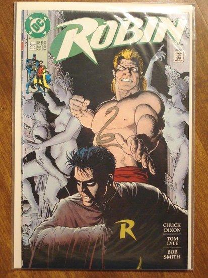 Robin #5 (1991 mini-series) comic book - DC Comics