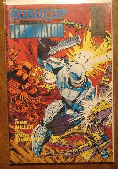 RoboCop vs the Terminator #2 comic book - Dark Horse Comics