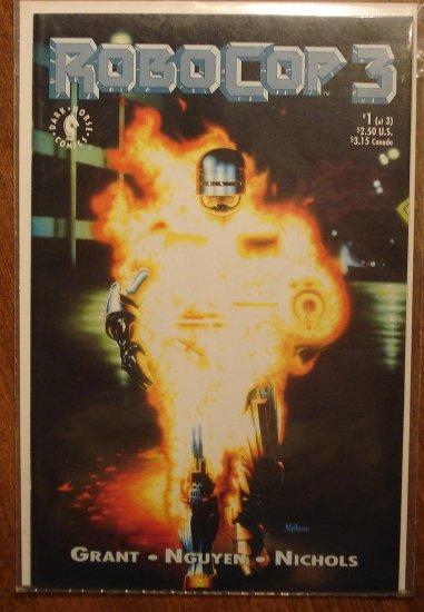 RoboCop 3 #1 comic book - Dark Horse Comics