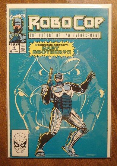 RoboCop #4 comic book - Marvel Comics