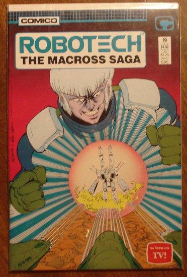 Robotech: The Macross Saga #19 comic book - Comico Comics