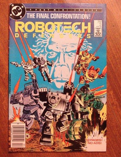 Robotech Defenders #2 comic book - DC Comics