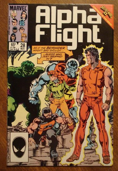 Alpha Flight #28 comic book - Marvel Comics