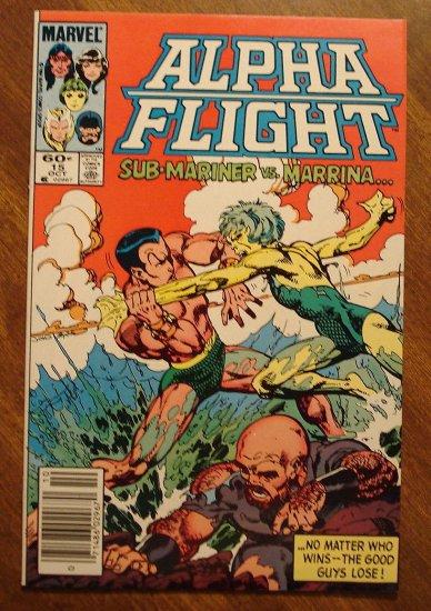 Alpha Flight #15 comic book - Marvel Comics
