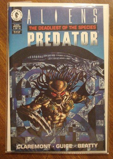 Aliens vs Predator: The Deadliest of the Species #1 comic book - Dark Horse Comics