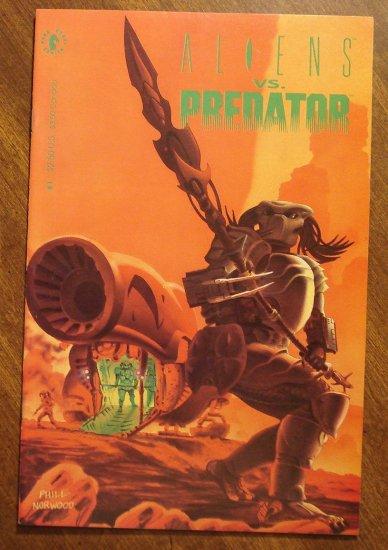 Aliens vs Predator #1 comic book - Dark Horse Comics