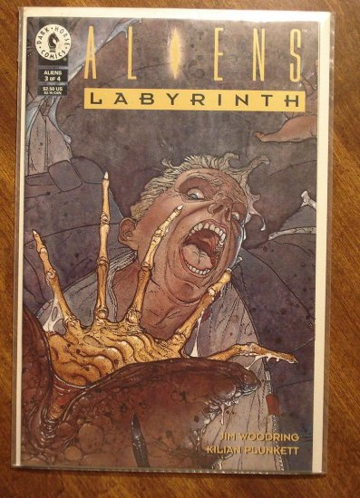 Aliens: Labyrinth #3 comic book - Dark Horse Comics