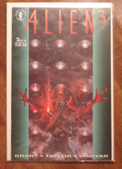 Aliens 3 #3 comic book - Dark Horse Comics
