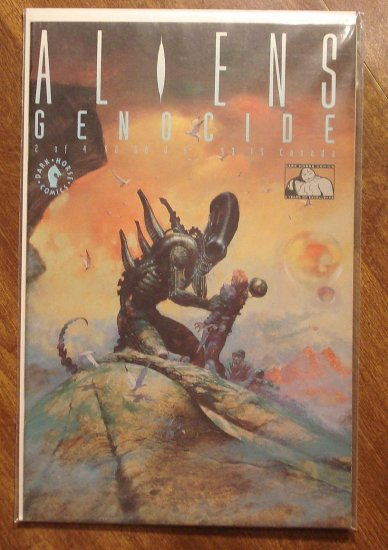 Aliens: Genocide #2 comic book - Dark Horse Comics