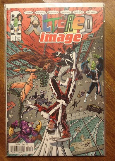 Altered Image #1 comic book - Image Comics