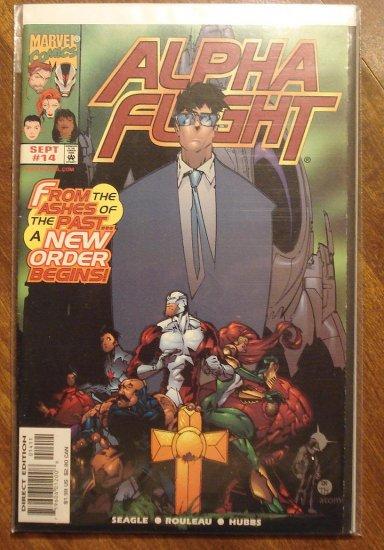 Alpha Flight #14 (1990's series) comic book - Marvel Comics