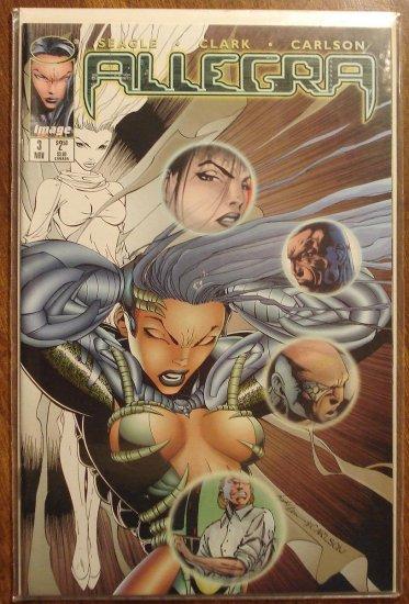 Allegra #3 comic book - Image Comics