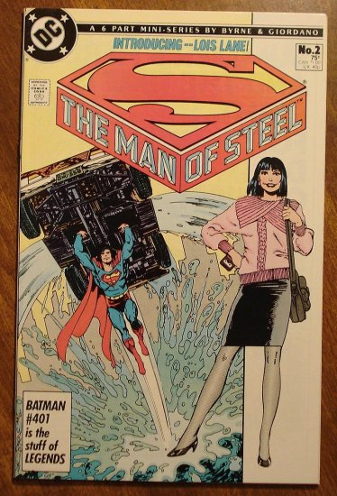 Man of Steel #2 comic book - DC Comics, NM/M, John Byrne, Superman