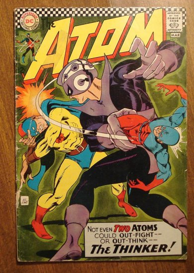 The Atom #29 1967 F/G comic book condition, Earth-2 Atom appearance - DC Comics