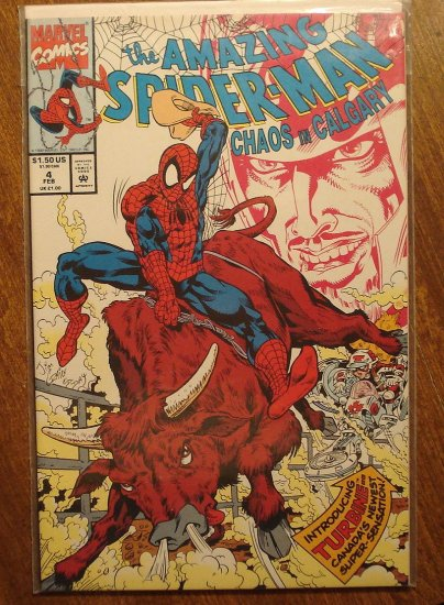Amazing Spider-Man: Chaos in Calgary #4 mini-series (Spiderman) comic book - Marvel Comics