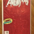 Avengers West Coast #100 comic book - Marvel Comics, embossed red foil cover