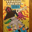 Justice League of America Double Double Comics #2 comic book, 1960's British reprints