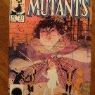 New Mutants #31 comic book - Marvel comics
