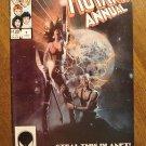 New Mutants Annual #1 comic book - Marvel comics