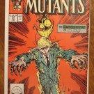 New Mutants #64 comic book - Marvel comics
