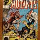 New Mutants #59 comic book - Marvel comics