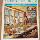 Architectural Digest Magazine - January 1996 Sting, private homes in Europe, castles, French Riviera