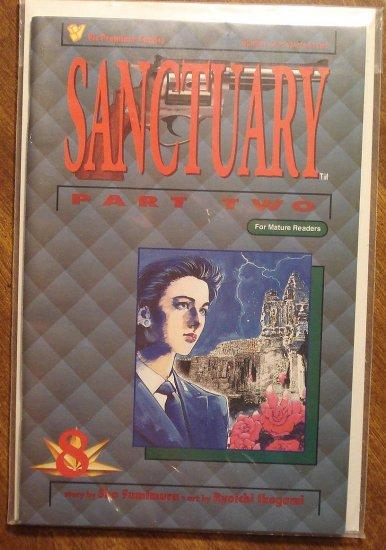 Sanctuary Part Two 2 8 Comic Book Viz Comics Manga