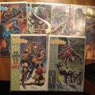 Shadowman #'s 31, 32, 33, 34, 35, 37, Yearbook 1 (vol 1) comic book lot - Valiant comics