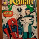 Marc Spector: Moon Knight #19 (1980's/90's series) comic book - Marvel Comics