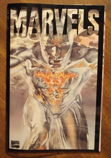 Marvels #3 - NM/M, Alex Ross artwork, Clear acetate cover, Marvel comics