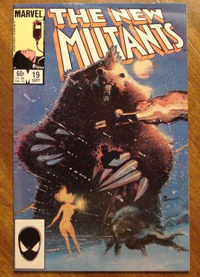 New Mutants #19 comic book - Marvel comics