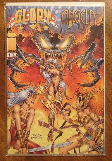 Glory & Angela #1 comic book - Image comics