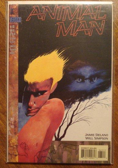 Animal Man #65 comic book - DC Vertigo comics