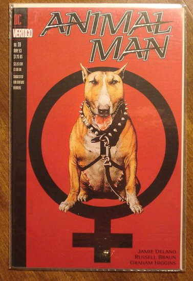 Animal Man #59 comic book - DC Vertigo comics
