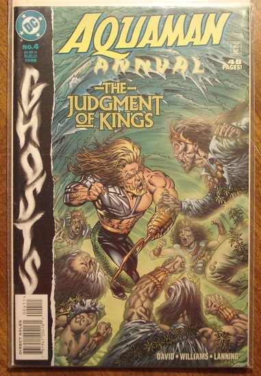 Aquaman Annual #4 comic book - DC comics