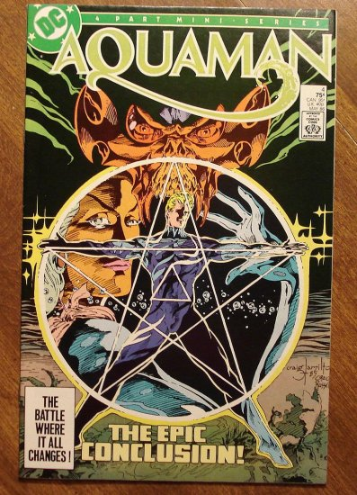 Aquaman #4 (1986 4 part mini-series) comic book - DC comics