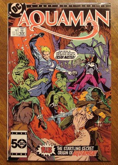 Aquaman #3 (1986 4 part mini-series) comic book - DC comics