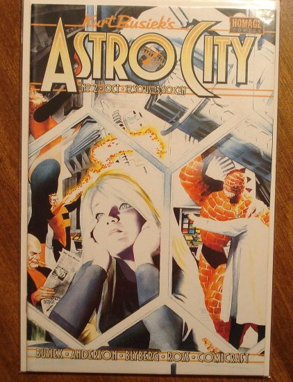 Astro City #2 comic book - Homage comics, Kurt Busiek