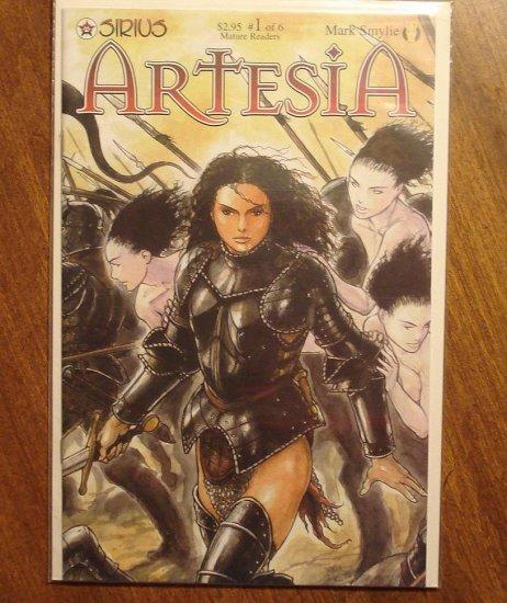Artesia #1 comic book - Sirius comics