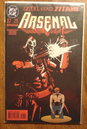 Arsenal #1 comic book - DC comics