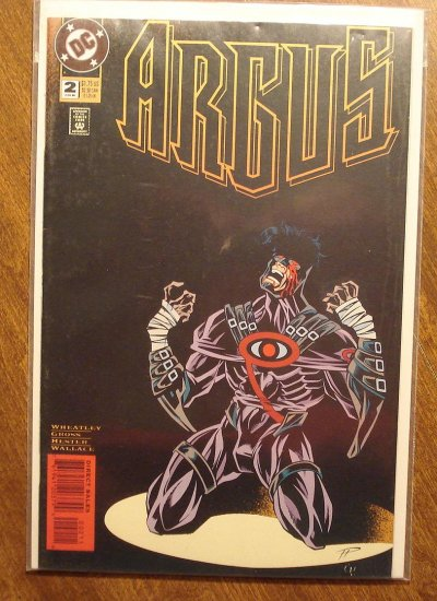 Argus #2 comic book - DC comics