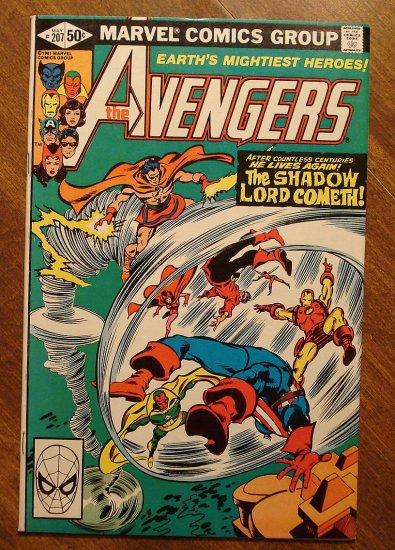 The Avengers #207 comic book - Marvel Comics