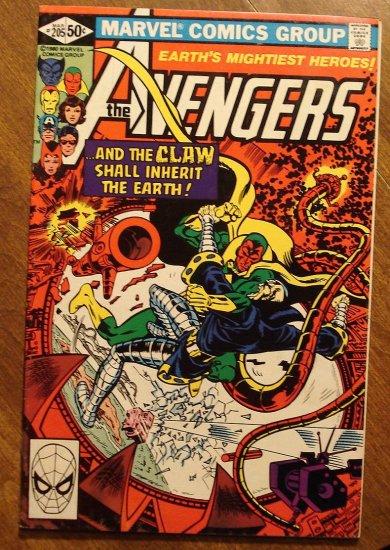 The Avengers #205 comic book - Marvel Comics